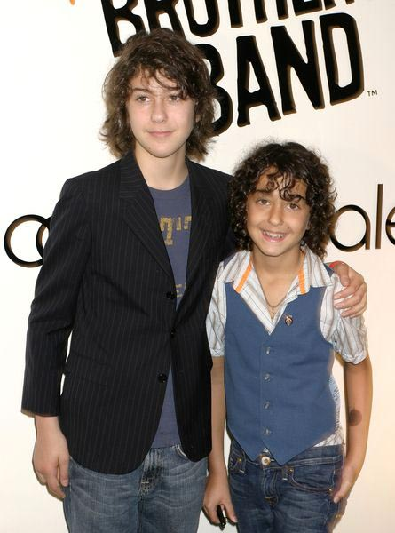 Naked Brothers Band Autograph Signing to Promote Their New Album 'I Don't Want to Go to School' at Bloomingdales