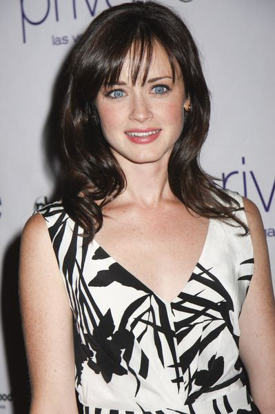 Alexis Bledel Celebrates Her 27th Birthday at Prive Las Vegas