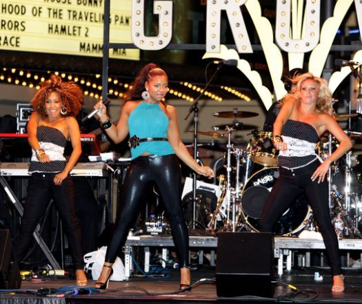 The Grove 2008 Summer Concert Presents Ashanti in Los Angeles, California, USA