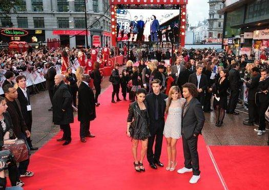 'High School Musical 3: Senior Year' London Premiere at Empire Cinema Leicester Square