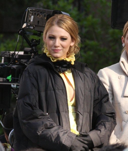 'Gossip Girls' Filming at the Upper East Side of New York