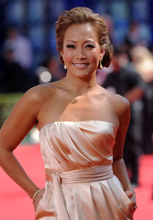 Carrie Ann Inaba at 61st Primetime Emmy Awards