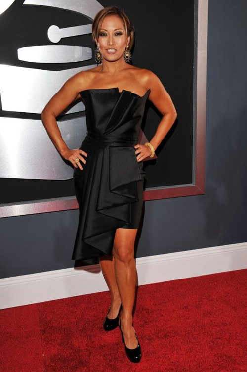 Carrie Ann Inaba at Grammy Awards 2010