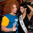 Carrot Top, 2010 Miss USA Rima Fakih