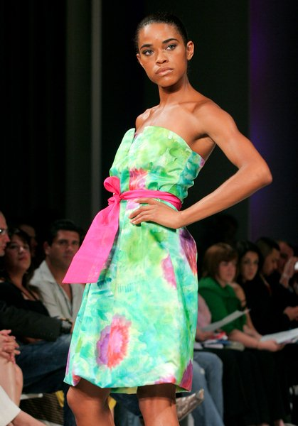 Ana Maria Guiulfo at 10th Annual Miami Fashion Week Day 1 on April 9th - SOHO Studios, Miami, FL