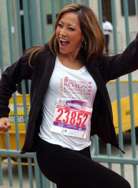 Carrie Ann Inaba at 15th Annual EIF Revlon Run/ Walk For Women - Los Angeles Memorial Colliseum, Los Angeles, CA. USA