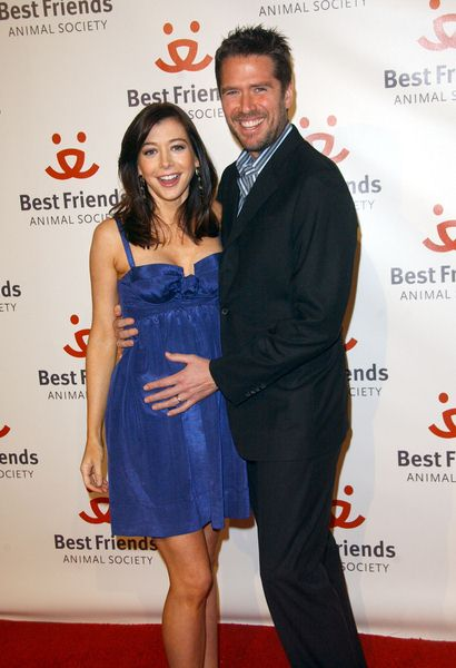 Alyson Hannigan, Alexis Denisof at 15th Annual Lint Roller Party Presented By The Best Friends Animal Society at Hollywood Palladium, Hollywood, CA. USA