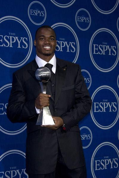 Adrian Peterson at 16th Annual ESPYs - Press Room at Nokia Theatre L.A. Live, Los Angeles, CA USA
