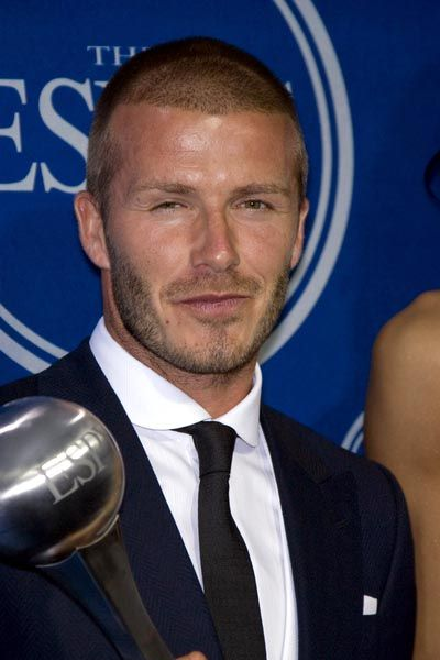 David Beckham at 16th Annual ESPYs - Press Room at Nokia Theatre L.A. Live, Los Angeles, CA USA