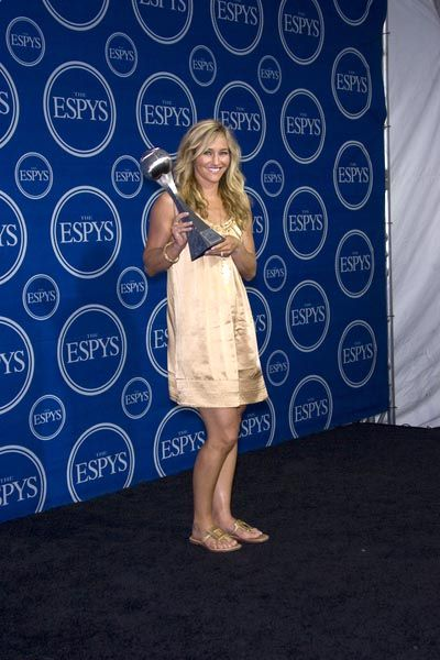 Gretchen Bleiler at 16th Annual ESPYs - Press Room at Nokia Theatre L.A. Live, Los Angeles, CA USA