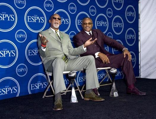 John Carlos, Tommie Smith at 16th Annual ESPYs - Press Room at Nokia Theatre L.A. Live, Los Angeles, CA USA