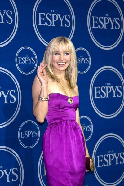 Kristen Bell at 16th Annual ESPYs - Press Room at Nokia Theatre L.A. Live, Los Angeles, CA USA