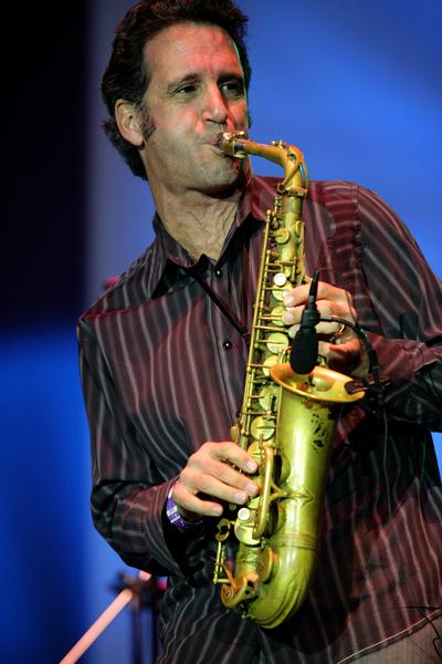 Eric Marienthal at 18th Annual Jazz Show at Charles Drew University of Medicine and Science Campus, Los Angeles, CA, USA
