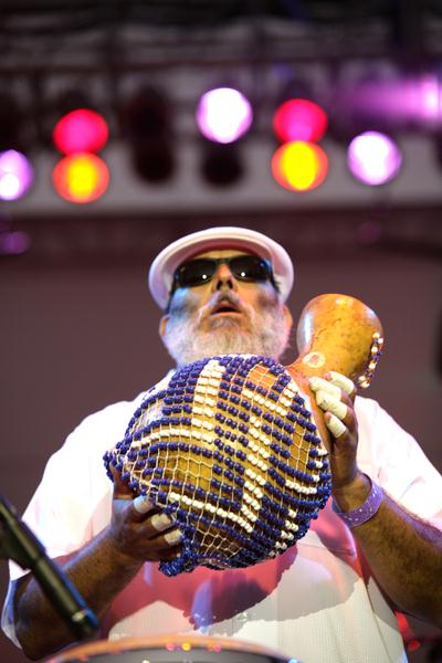 Poncho Sanchez at 18th Annual Jazz Show at Charles Drew University of Medicine and Science Campus, Los Angeles, CA, USA