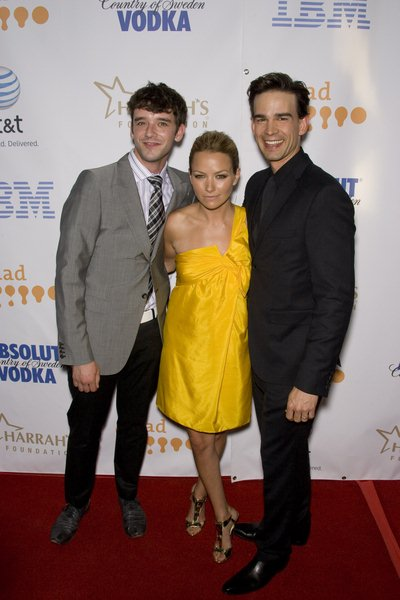 Michael Urie, Becki Newton, Christopher Gorham at 19th Annual GLAAD Media Awards - Red Carpet at Kodak Theatre, Hollywood, CA USA