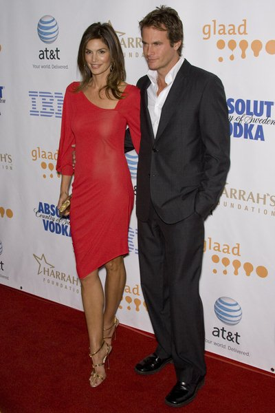 Cindy Crawford, Rande Gerber at 19th Annual GLAAD Media Awards - Red Carpet at Kodak Theatre, Hollywood, CA USA