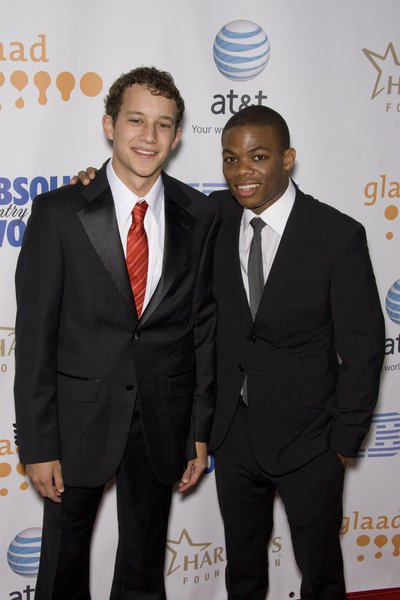 Jacob Zachar, James Paul at 19th Annual GLAAD Media Awards - Red Carpet at Kodak Theatre, Hollywood, CA USA