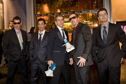 New Kids on the Block at The 19th Annual MuchMusic Video Awards at The Chum/City Building, Toronto Canada
