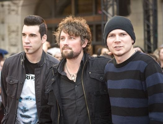 Theory of a Deadman at The 19th Annual MuchMusic Video Awards at The Chum/City Building, Toronto Canada