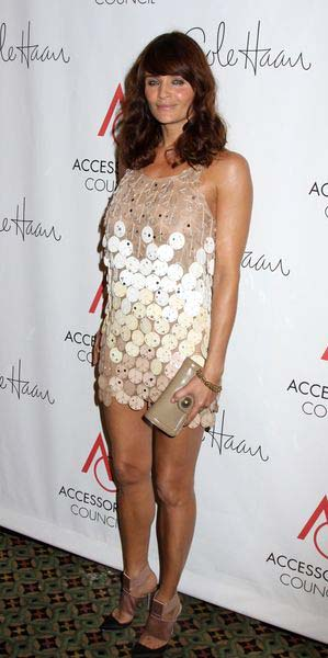 Helena Christensen at 2008 Ace Awards Presented by the Accessories Council - Red Carpet at Cipriani 42nd Street, New York City, NY, USA