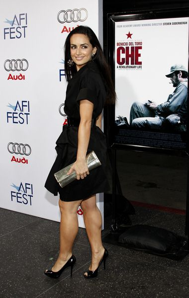 Ana de la Reguera at 2008 AFI FEST Los Angeles Premiere of 'Che' at Grauman's Chinese Theater, Hollywood, CA, USA