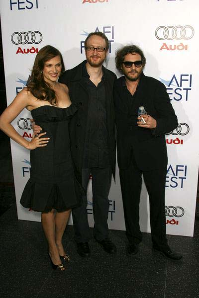 Vinessa Shaw, James Gray and Joaquin Phoenix at 2008 AFI FEST Los Angeles Premiere of 'Che' at Grauman's Chinese Theater, Hollywood, CA, USA