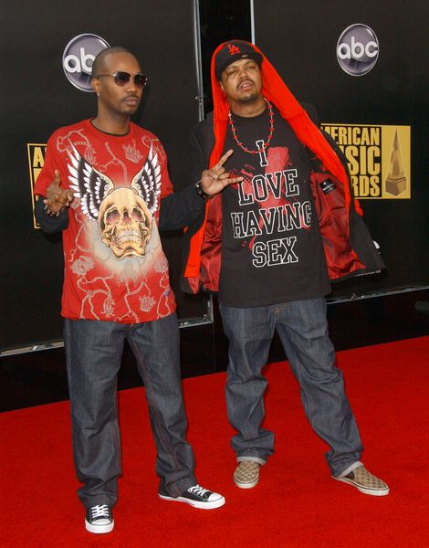 36 Mafia at 2008 American Music Awards - Arrivals at Nokia Theater, Los Angeles, CA. USA
