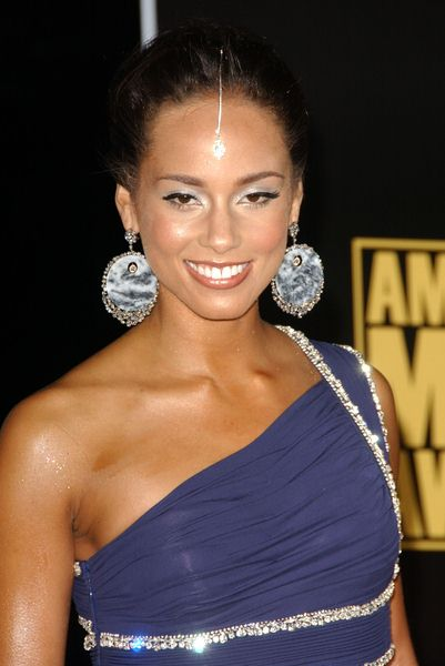 Alicia Keys at 2008 American Music Awards - Arrivals at Nokia Theater, Los Angeles, CA. USA