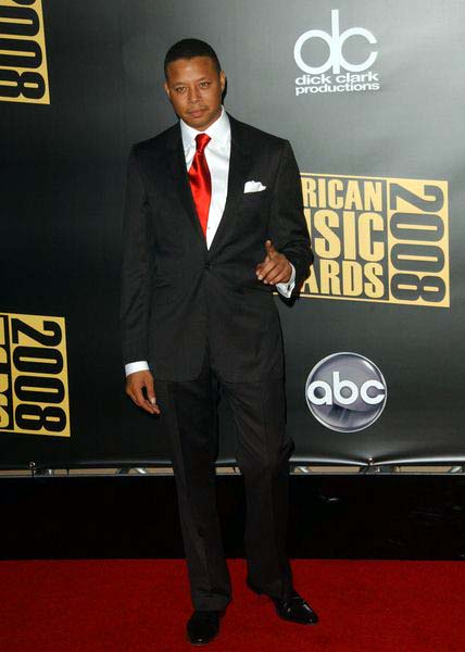 Terrence Howard at 2008 American Music Awards - Arrivals at Nokia Theater, Los Angeles, CA. USA