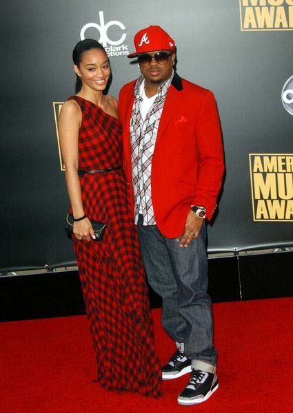 The Dream, Guest at 2008 American Music Awards - Arrivals at Nokia Theater, Los Angeles, CA. USA