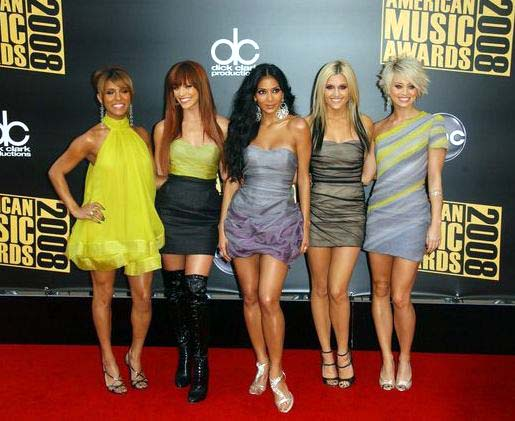 The Pussycat Dolls at 2008 American Music Awards - Arrivals at Nokia Theater, Los Angeles, CA. USA