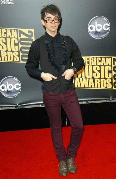 Christian Siriano at 2008 American Music Awards - Arrivals at Nokia Theater, Los Angeles, CA. USA