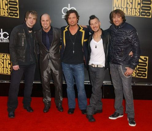 Daughtry at 2008 American Music Awards - Arrivals at Nokia Theater, Los Angeles, CA. USA
