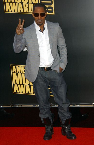 Jamie Foxx at 2008 American Music Awards - Arrivals at Nokia Theater, Los Angeles, CA. USA