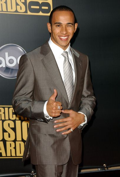 Louis Hamilton at 2008 American Music Awards - Arrivals at Nokia Theater, Los Angeles, CA. USA