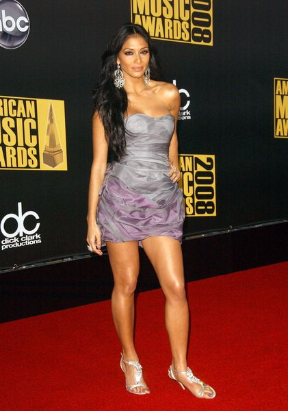 Nicole Scherzinger at 2008 American Music Awards - Arrivals at Nokia Theater, Los Angeles, CA. USA
