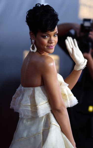 Rihanna at 2008 American Music Awards - Arrivals at Nokia Theater, Los Angeles, CA. USA