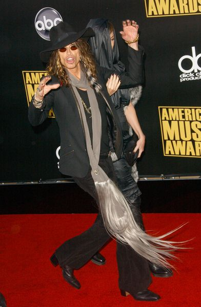 Steven Tyler at 2008 American Music Awards - Arrivals at Nokia Theater, Los Angeles, CA. USA