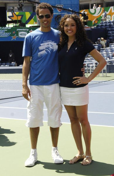 Quddus, Susie Castillo at 2008 Arthur Ashe Kid's Day at USTA Billie Jean King National Tennis Center, New York City, NY, USA