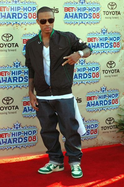 Bow Wow at 2008 BET Hip Hop Awards - Arrivals at Atlanta Civic Center in Atlanta, GA, USA