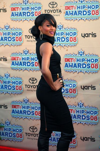 Ciara at 2008 BET Hip Hop Awards - Arrivals at Atlanta Civic Center in Atlanta, GA, USA