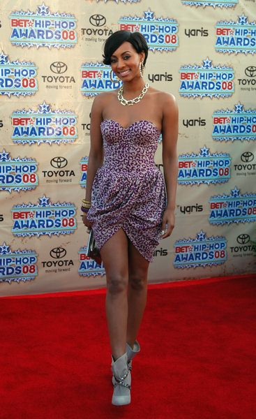 Keri Hilson at 2008 BET Hip Hop Awards - Arrivals at Atlanta Civic Center in Atlanta, GA, USA