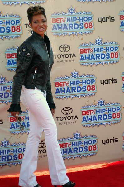 MC Lyte at 2008 BET Hip Hop Awards - Arrivals at Atlanta Civic Center in Atlanta, GA, USA
