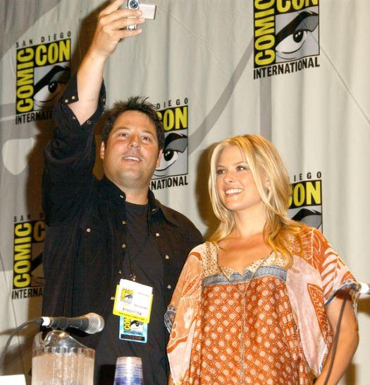 Greg Grunberg, Ali Larter at 2008 Comic Con International Day Three at San Diego Convention Center, San Diego, CA. USA