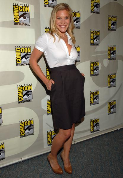 Katee Sackhoff at 2008 Comic Con International Day Three at San Diego Convention Center, San Diego, CA. USA