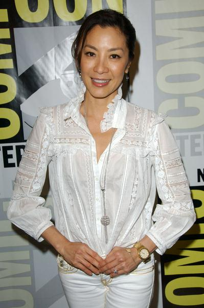 Michelle Yeoh at 2008 Comic Con International Day Three at San Diego Convention Center, San Diego, CA. USA
