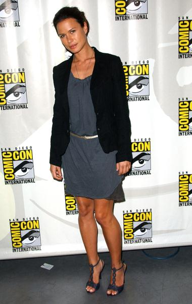 Rhona Mitra at 2008 Comic Con International Day Three at San Diego Convention Center, San Diego, CA. USA