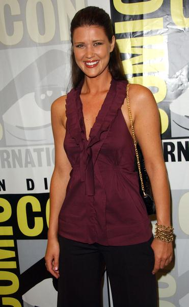 Sarah Lancaster at 2008 Comic Con International Day Three at San Diego Convention Center, San Diego, CA. USA