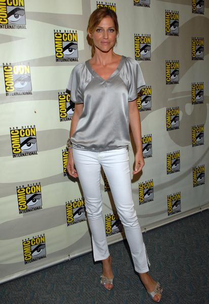 Tricia Helfer at 2008 Comic Con International Day Three at San Diego Convention Center, San Diego, CA. USA