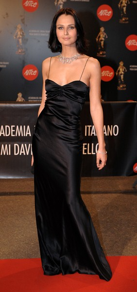 Anna Safroncik at 2008 David Di Donatello Awards For Italian Cinema - Inside Arrivals and Ceremony - Auditorium della Conciliazione, Rome, Italy